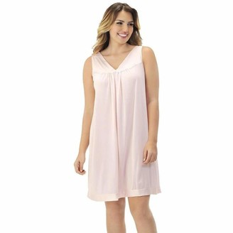 Exquisite Form Womens Colortura Short Gown