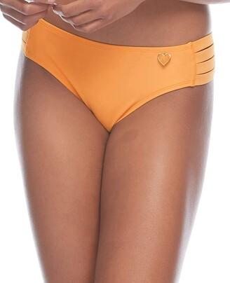 Body Glove Women's Nuevo Contempo Solid Full Coverage Bikini Bottom Swimsuit