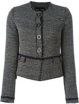 Proenza Schouler frayed tweed jacket - women - Cotton/Acrylic/Polyester/Cupro - 6
