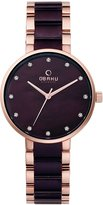 Obaku Women's V189LXVNSA Casual Classic Analog Watch with 3 Hands