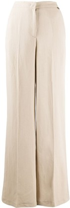 Twin-Set High-Waisted Wide Leg Trousers