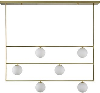 Everly Quinn Beaton 6 - Light Unique Tiered Chandelier