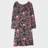 Paul Smith Women's Dusty Pink 'Floral' Print Milano Dress