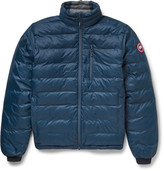 Canada Goose Lodge Packable Quilted Ripstop Shell Down Jacket - Navy