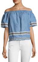 Plenty by Tracy Reese Off the Shoulder Top