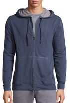 Saks Fifth Avenue Collection Solid Zip-Up Hoodie