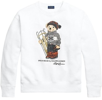 Polo Ralph Lauren Sled Polo Bear Long-Sleeve Cotton Sweatshirt
