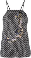 Carven Caraco à Bretelles blouse - women - Silk - 38