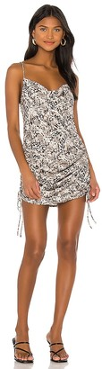 Free People Day To Night Printed Slip Dress