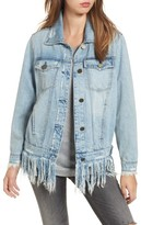Blank NYC Women's Blanknyc Whiplash Denim Jacket
