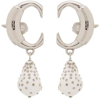Chloé clip-on drop pearl ear cuff