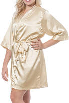 Cathy's Concepts CATHYS CONCEPTS Personalized Luxury Satin Robe