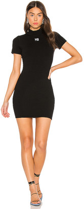 Alexander Wang Bodycon Crewneck Tee Dress