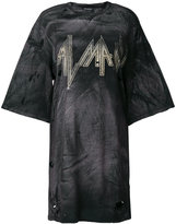 Balmain oversized distressed T-shirt
