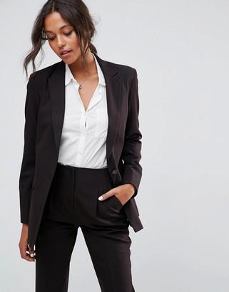 Asos Design DESIGN the boyfriend blazer mix & match-Black