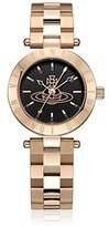 Vivienne Westwood Women's VV092RG Westbourne Analog Display Swiss Quartz Rose Gold Watch
