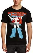 Logoshirt Men's Transformers - One Shall Stand ... Crew Neck Short Sleeve T-Shirt