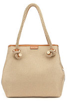 MICHAEL Michael Kors Maritime Rope-Handle Large Beach Tote