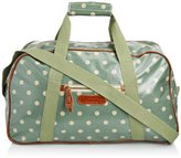 Brakeburn Womens Polka Overnight Top-Handle Bag