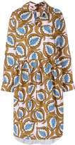 Marni oversized foliage print dress