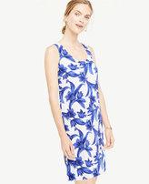 Ann Taylor Petite Tropical Garden Shift Dress