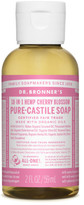 Dr. Bronner's Liquid Castile Soap 59ml - Cherry Blossom