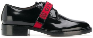 Givenchy logo monk shoes