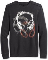 Epic Threads Boys' Long-Sleeve Graphic-Print Thermal Shirt, Only at Macy's