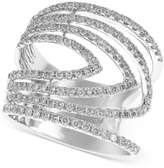 Effy Geo by Diamond Ring (7/8 ct. t.w.) in 14k White Gold