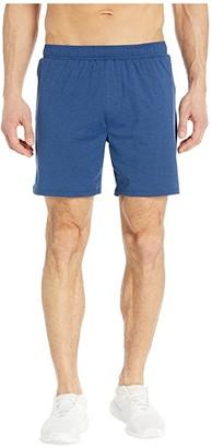 Rhone 6 Swift Knit Shorts - Lined (Maritime Heather) Men's Shorts