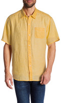 Tommy Bahama Sea Glass Breezer Linen Short Sleeve Relaxed Fit Shirt