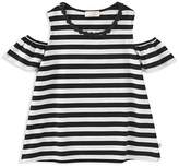 Kate Spade Girls' Striped Cold-Shoulder Top - Big Kid