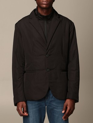 Armani Collezioni Armani Exchange Blazer Padded Nylon With Bib