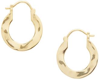 Gorjana Jax Profile Huggie Hoop Earrings
