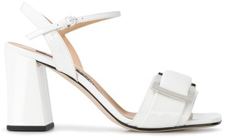 Sergio Rossi Buckled 85mm Heeled Sandals