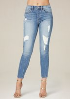 Bebe Relaxed High Rise Jeans