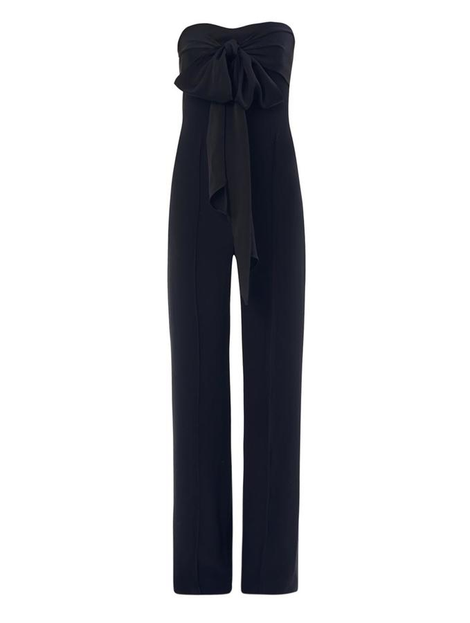 ADAM by Adam Lippes Strapless crepe jumpsuit