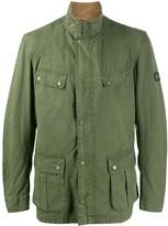 Barbour military flap pocket jacket