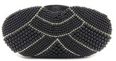 MG Collection Mirela Pearl Evening Bag Synthetic Clutch.