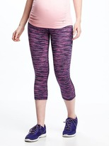 Old Navy Maternity Go-Dry Fitted Compression Crops
