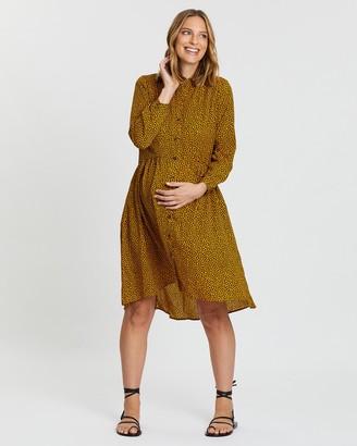 Bump Love Maternity Amy Easy Wear Shirt Dress