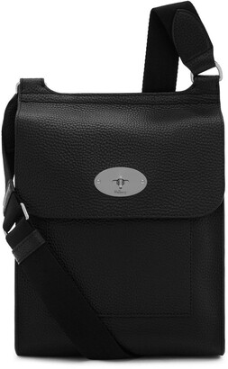 Mulberry Antony Black Natural Grain Leather