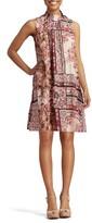 ECI Women's Print Shift Dress