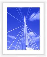 PTM Images Esplanade Riel Bridge Framed Giclee Art - 22x18