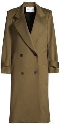 Michelle Waugh The Melanie Double Breasted Wool Overcoat