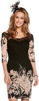 M&Co Floral print lace dress