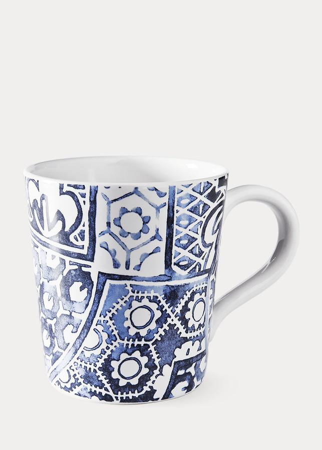 Ralph Lauren Cote d'Azur Batik Mug