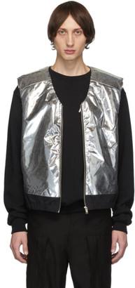 Ambush Silver and Black Padded Vest