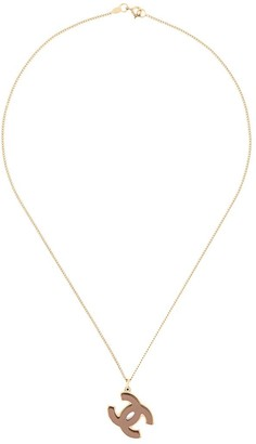 Chanel Pre Owned 2005 CC pendant necklace