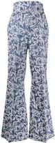 Couture Atu Body flared Rhytm trousers